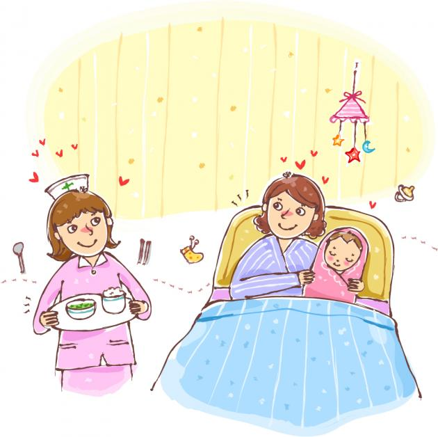 Caring clipart caring mother. Kbr postnatal care centers