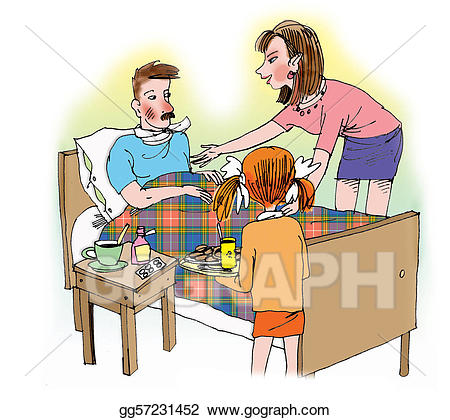 Caring clipart caring person. Stock illustrations mother and