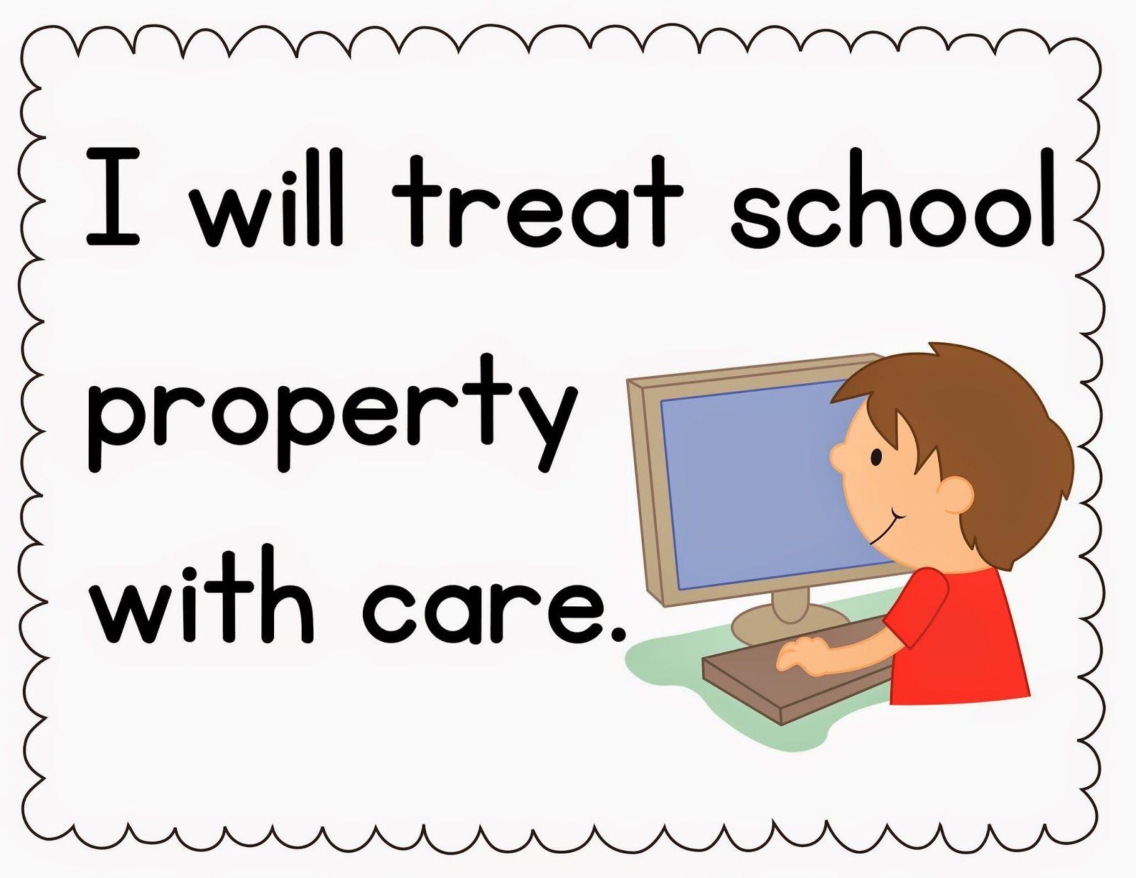 Caring clipart classroom. Preschool rules google search