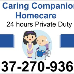 A companion home health. Caring clipart duty care