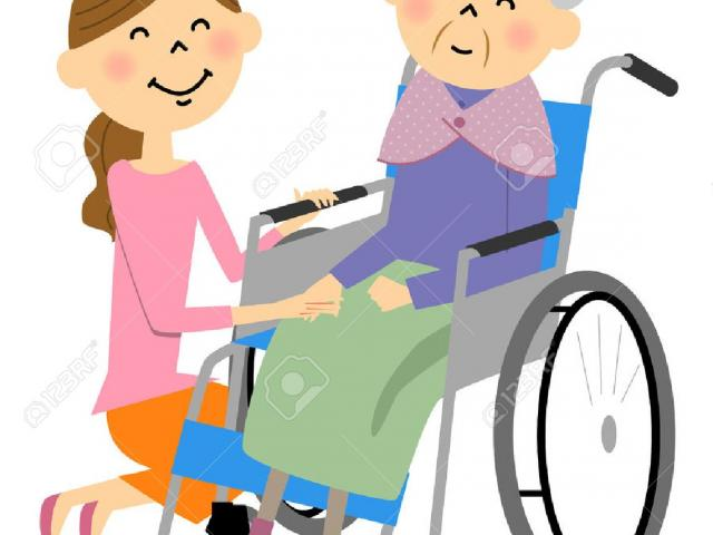 Caring clipart elderly care. Beauty cliparts free download