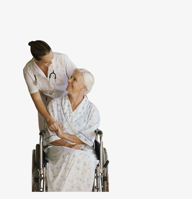 For the doctor wheelchair. Caring clipart elderly care