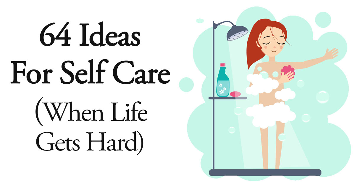 self care ideas. Caring clipart end life