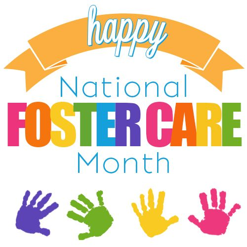 Caring clipart foster care. National month and adoption