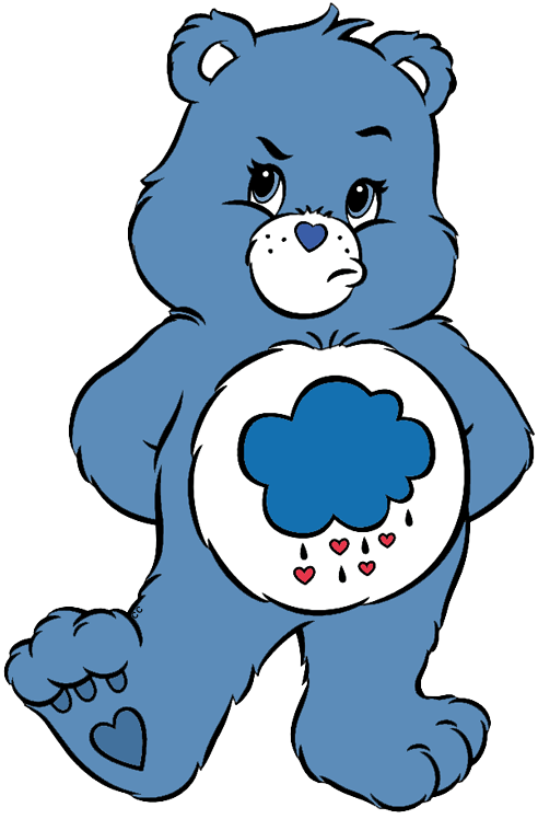 Voting clipart sticker. Care bears and cousins