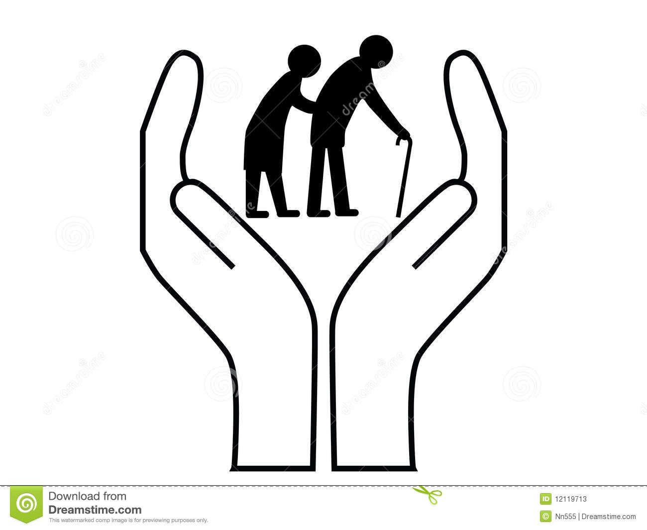 Elderly clip art pictures. Caring clipart home