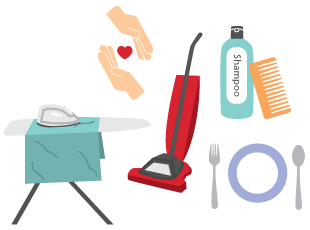 Healthcare clipart personal care service. What is home and