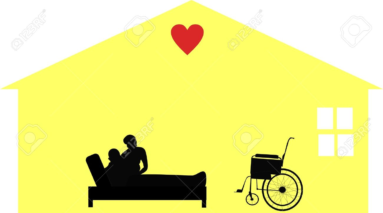 Caring clipart hospice.