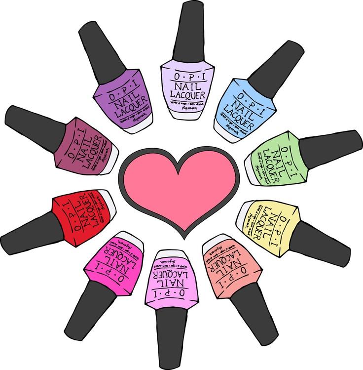 caring clipart nail