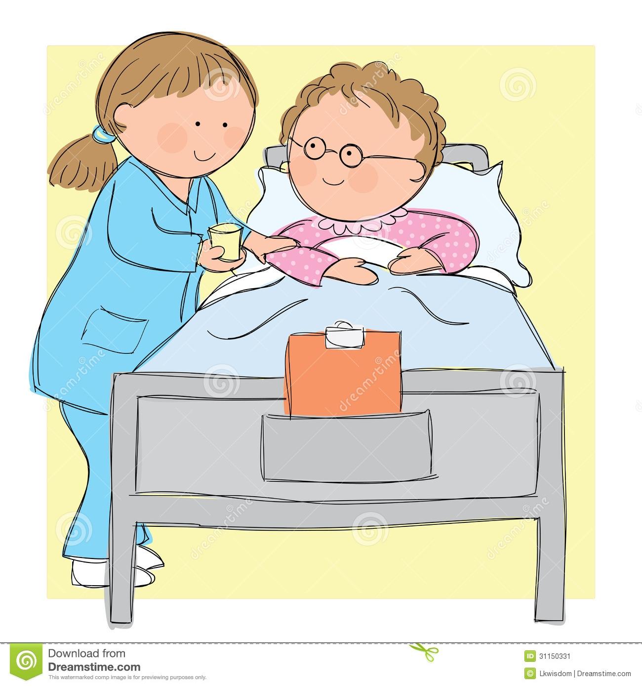 Nurse clip art library. Caring clipart nursing