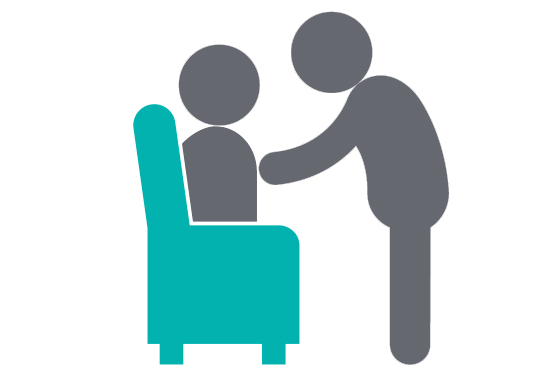Totalcare geriatric for seniors. Caring clipart palliative care