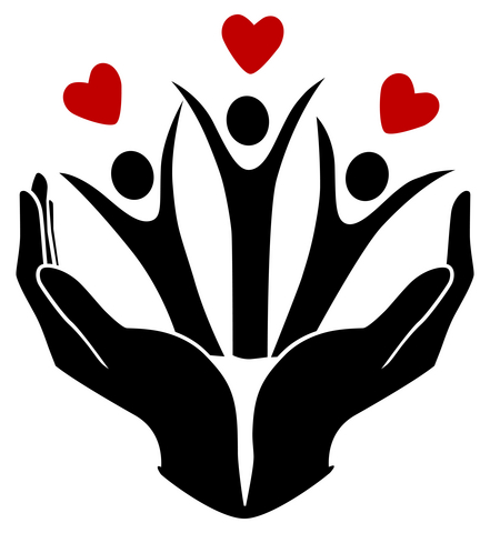 Fairlawn avenue united church. Handprint clipart helping hand