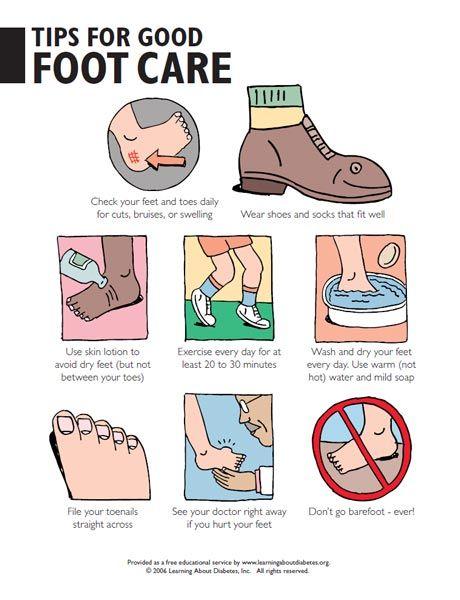 best diabetes foot. Caring clipart patient education