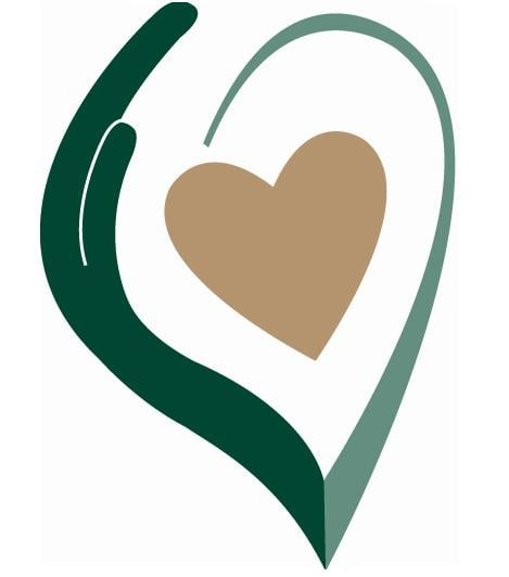 Caring from the heart. Healthcare clipart personal care service