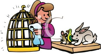 Taking of animals beauty. Caring clipart take care