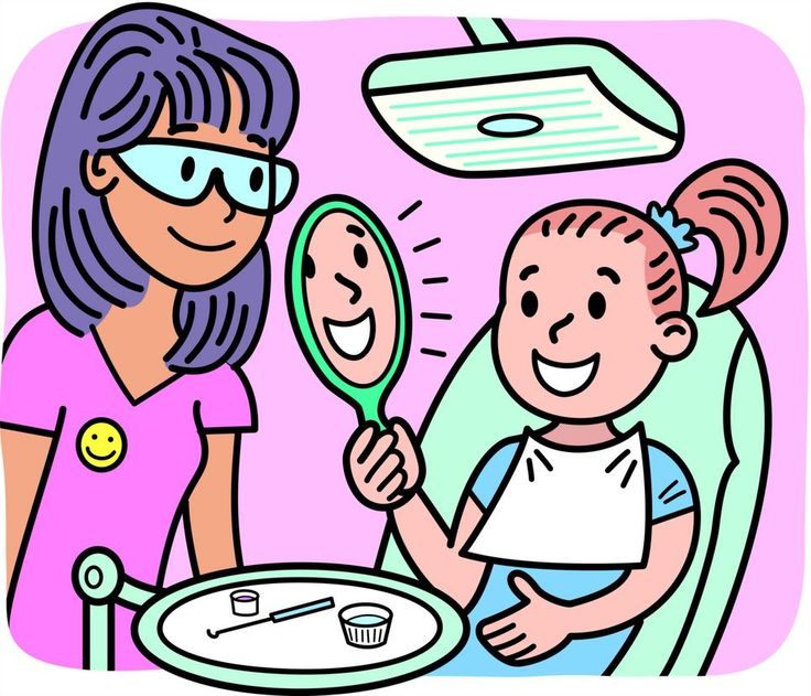Care of the body. Dentist clipart nice tooth