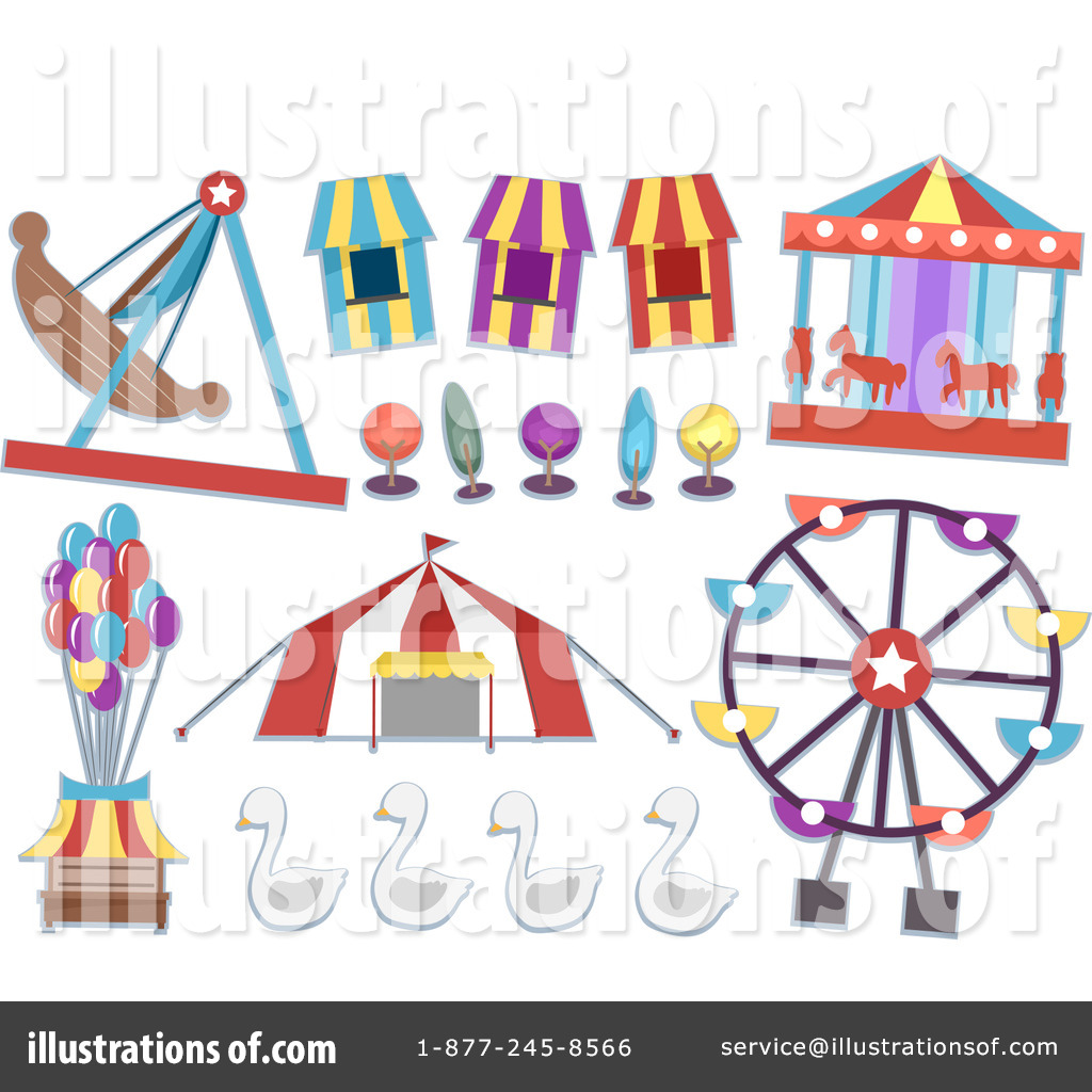 Carnival clipart. Illustration by bnp design