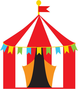 Free tent images at. Carnival clipart