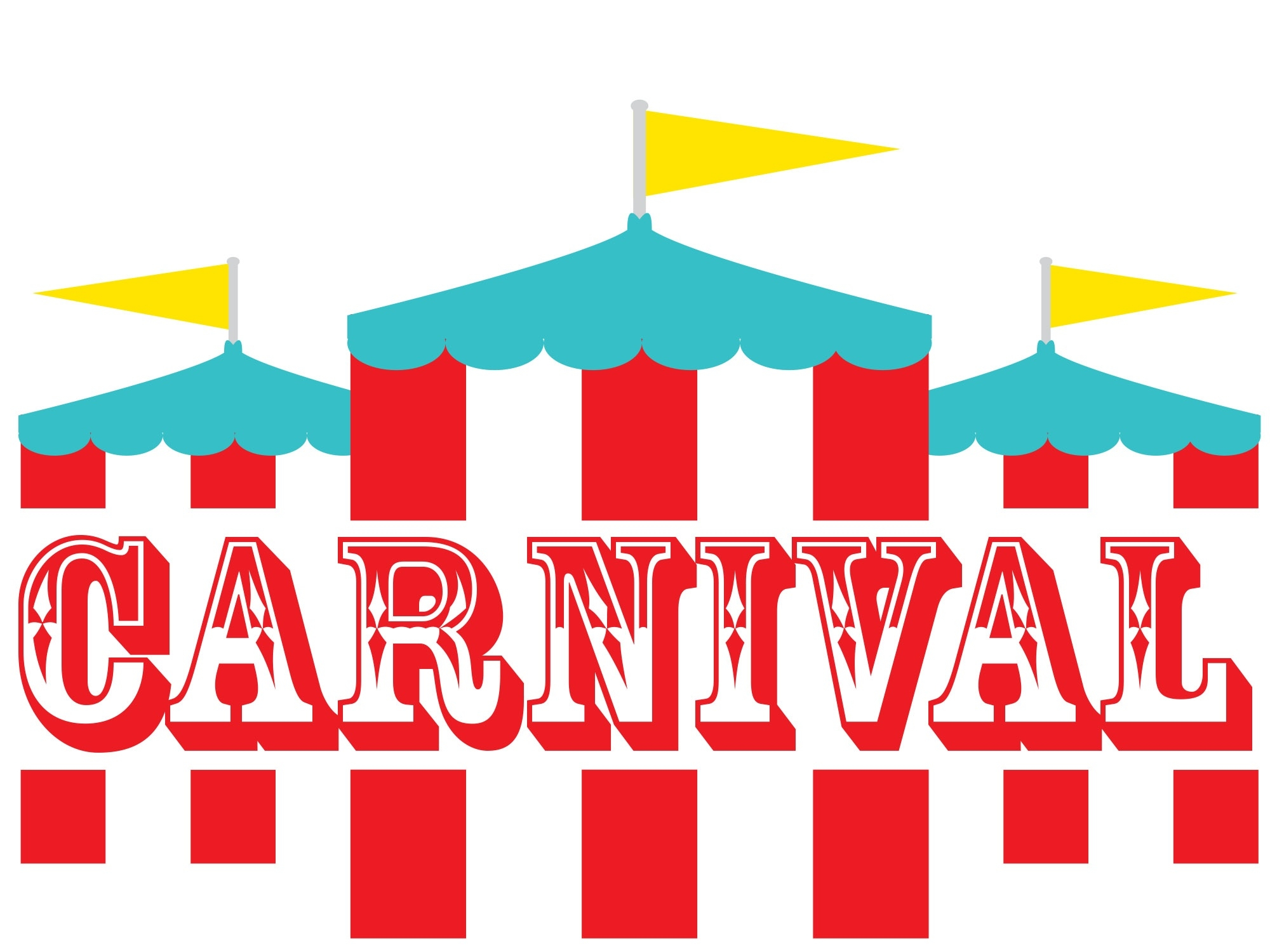 Carnival clipart black and white. Best of collection digital