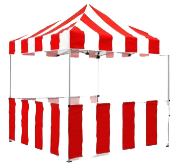 Carnival clipart booth. Tent rental fort walton