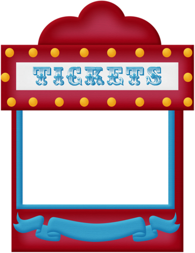 Birthday circus big bundle. Carnival clipart booth