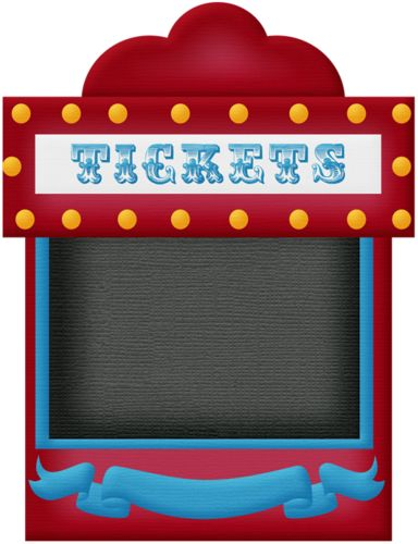 Carnival clipart booth. Theme park ticket clip