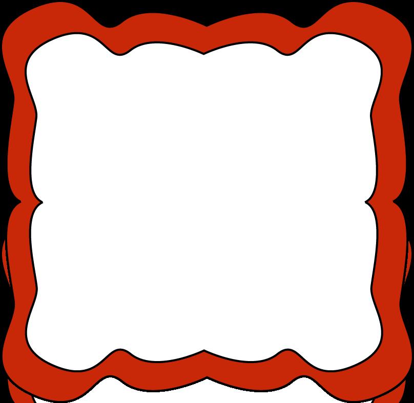 School clip art red. Clipart border carnival