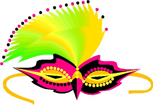 Mask picture images photos. Carnival clipart border