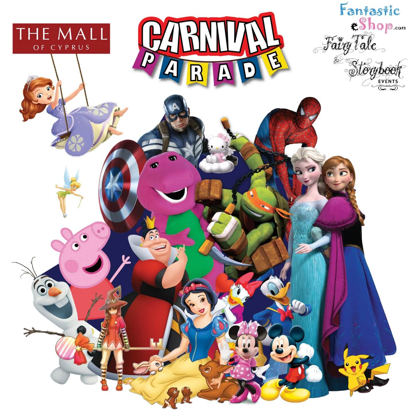 At the mall of. Carnival clipart carnival parade
