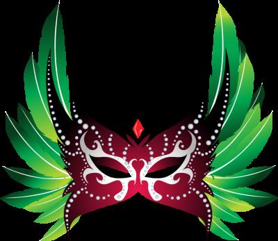 Carnival clipart carnivale. Brazilian mask