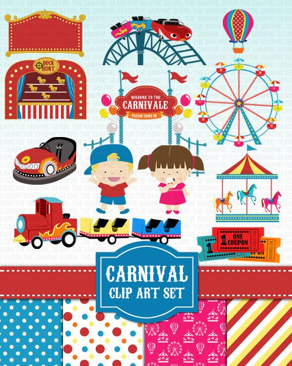 best clip art. Activities clipart carnival