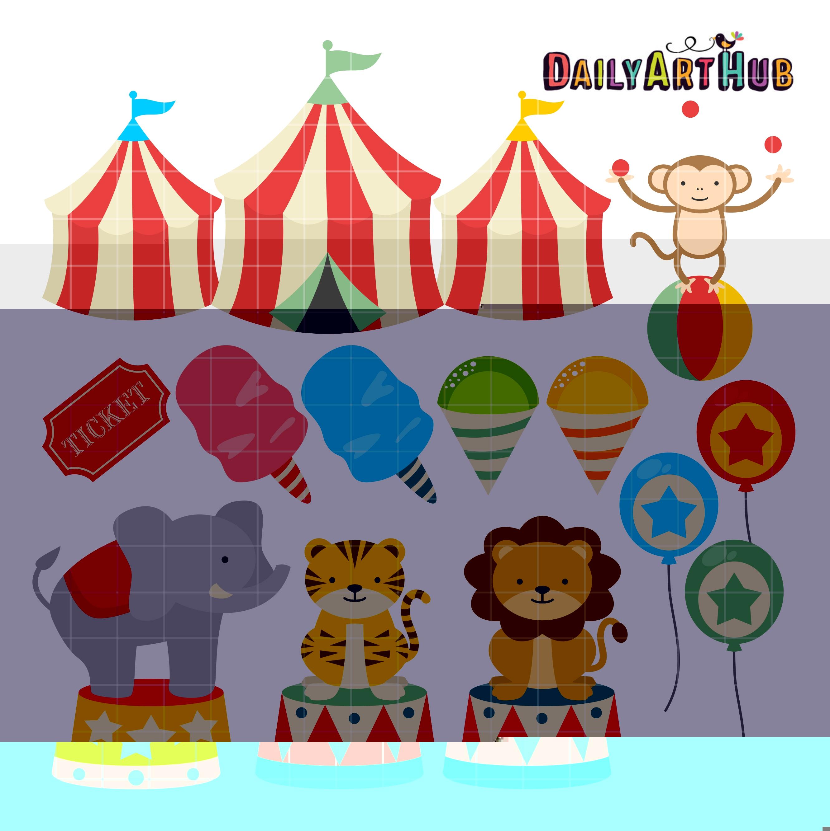 Cute . Carnival clipart cartoon