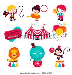 Clip art clown lion. Carnival clipart circus performer