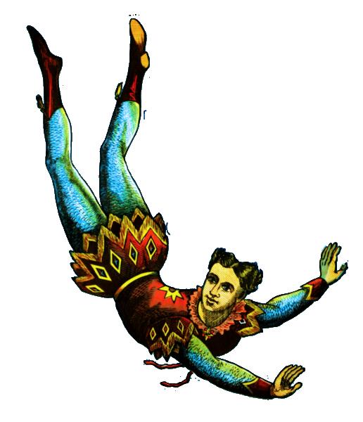 Clown clipart acrobat. Resto graphics free clip