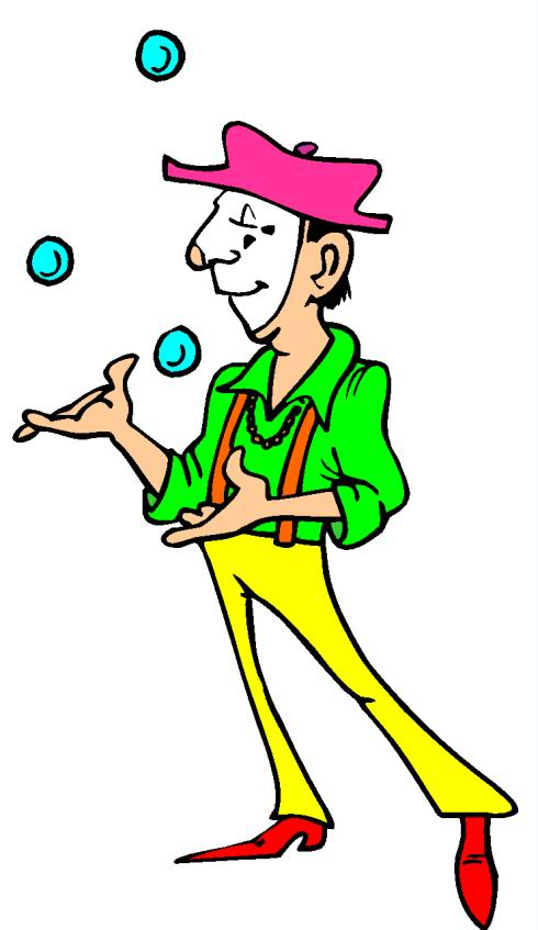 Image of clipartoons. Carnival clipart clip art