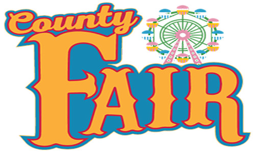 Advance tickets for north. Carnival clipart county fair