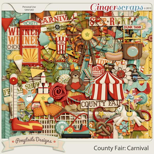 Gingerscraps kits. Carnival clipart county fair