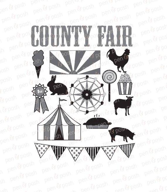 Carnival clipart county fair. Svg clip art