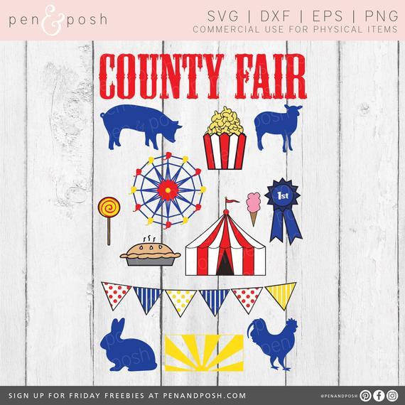 Svg clip art ferris. Carnival clipart county fair