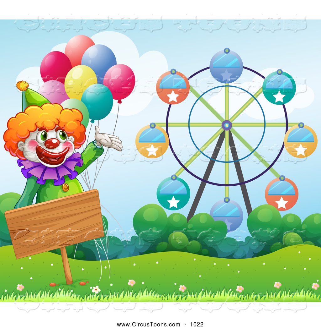 Royalty free stock circus. Carnival clipart cute