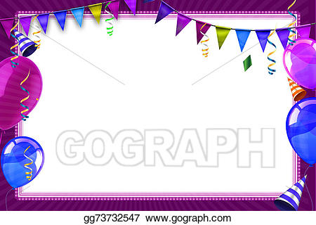 Background gg gograph celebration. Carnival clipart drawing