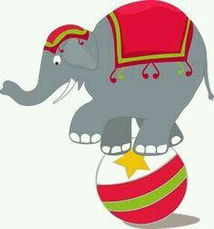 Amusement park miss kate. Carnival clipart elephant