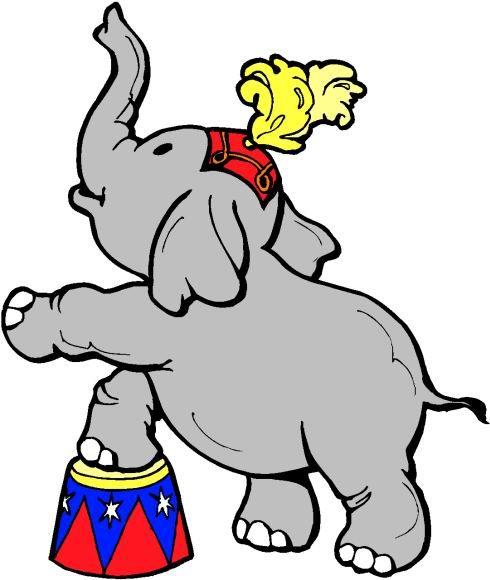 Circus google search elefantes. Carnival clipart elephant