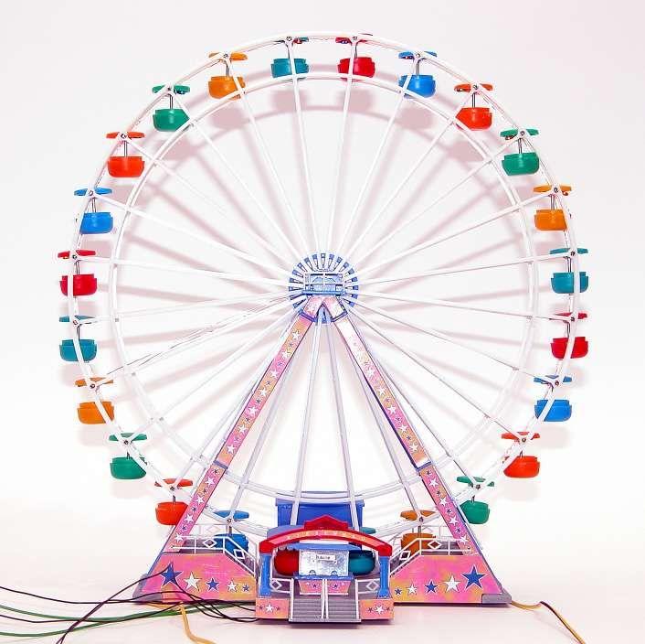 Clip art hobbies model. Carnival clipart ferris wheel