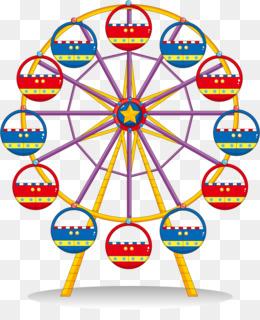 Carnival clipart ferris wheel. Traveling carousel clip art
