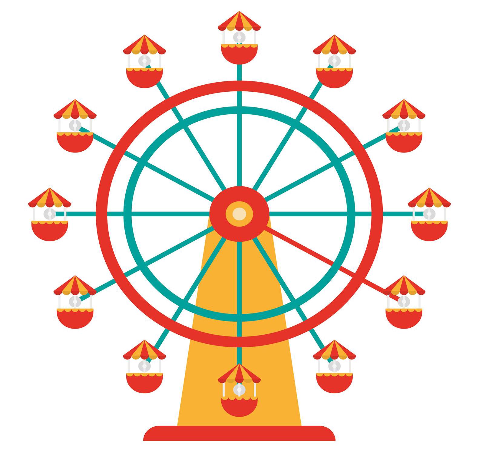 Carnival clipart ferris wheel. West coast carnivals home