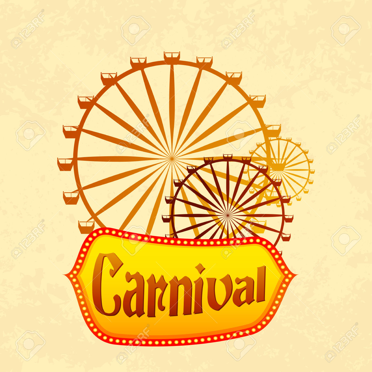 Giant pencil and in. Carnival clipart ferris wheel