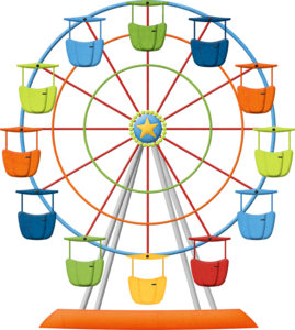 Carnival clipart ferris wheel. Fun time outdoors pinterest