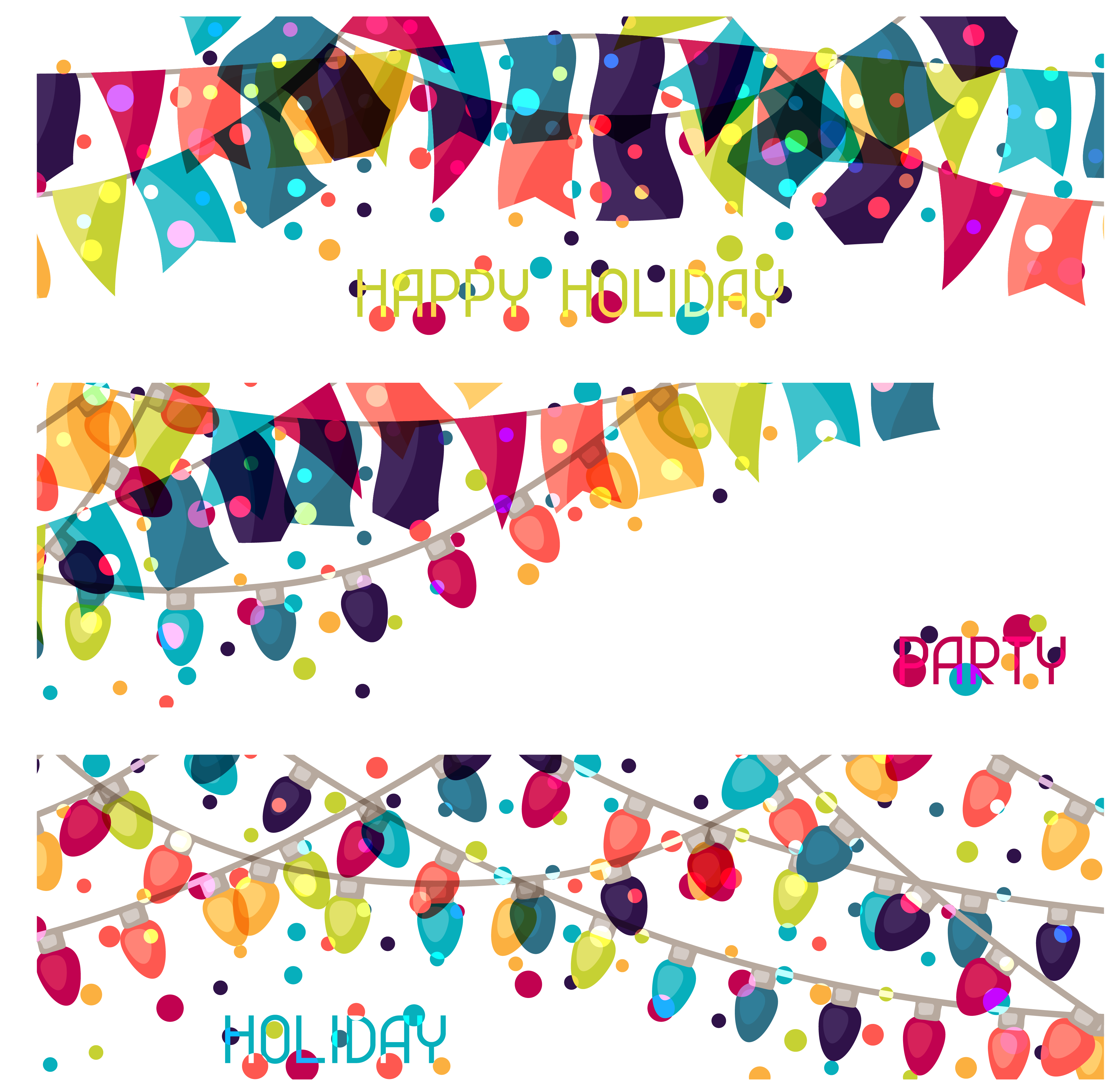Carnival clipart flag banner. Holiday clip art color