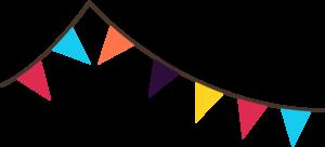 School open house ardenwald. Carnival clipart flag banner